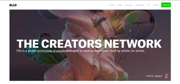 ello best Tumblr alternatives for creators