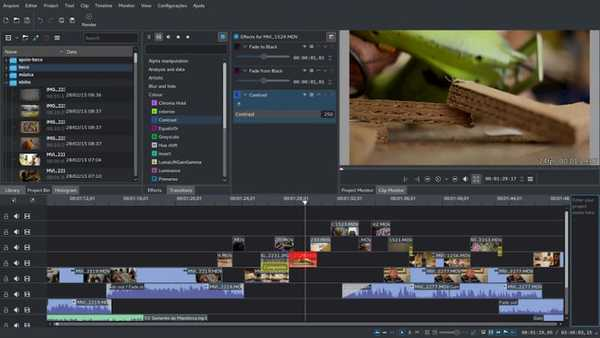 KDENlive best open source video editor