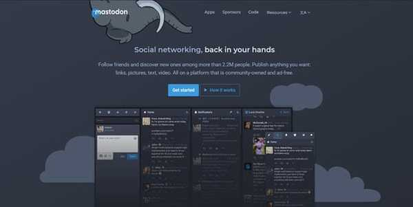 mastodon free open source tumblr alternative