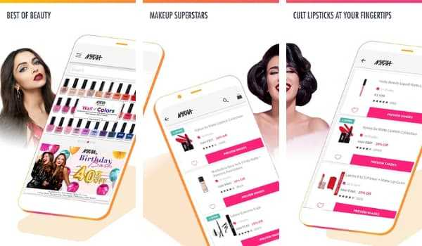 Nykaa Best Beauty Shopping Apps in India